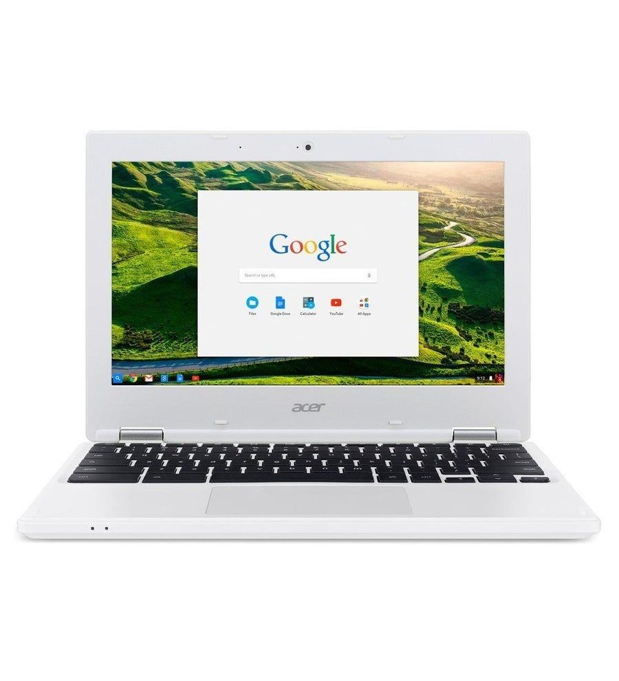 Acer laptop: Chromebook CB3-131-C2E2 - Wit