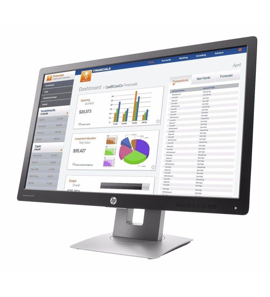 Hp monitor: EliteDisplay E232 - 23'' Full HD